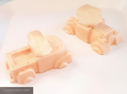 Oatmeal Shea Car Soaps
