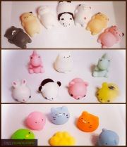 All the squishies I have available to embed